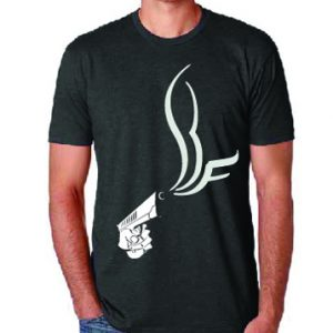 Man gun t-shirt from shooting range